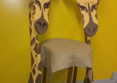 Decorative Giraffe Heads $15.00