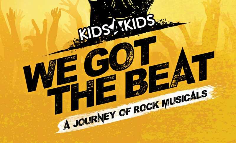 "Young Artist Cabaret, ""We Got The Beat"" – A Journey of Rock Musicals"