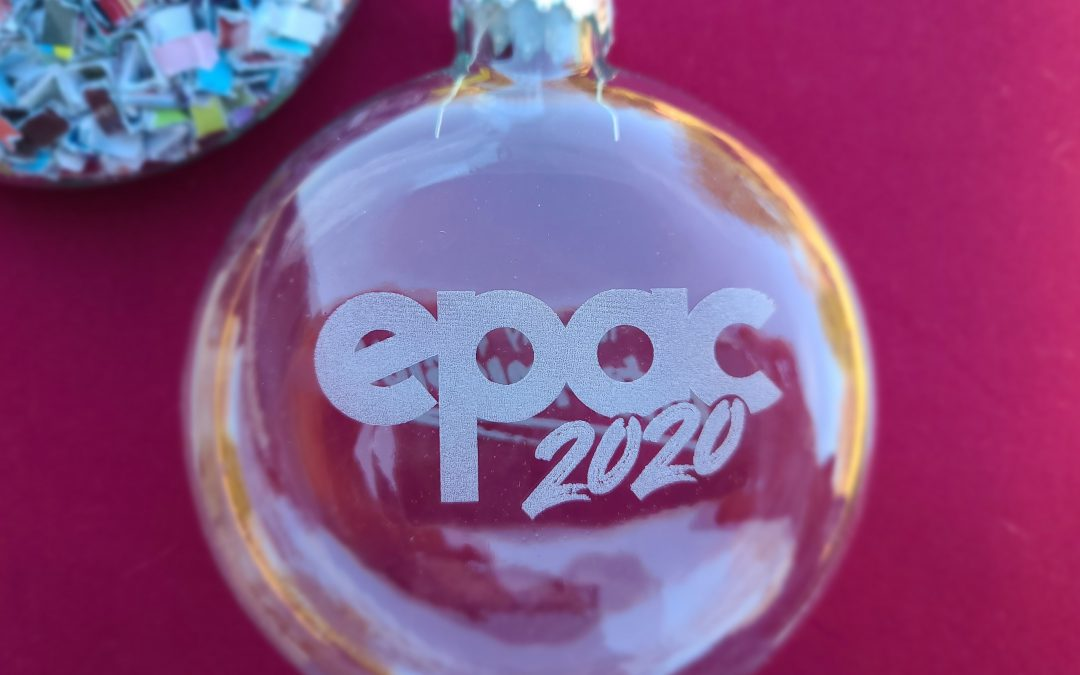 EPAC 2020 Limited Edition Holiday Ornaments on Sale Now!
